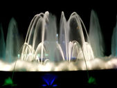 Beautiful fountain in Barcelona — Stock Photo