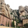 Montserrat abbey — Stock Photo