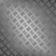 Background of metal with repetitive patten - Vektorgrafik