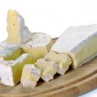 Brie cheese and camembert — Stock Photo