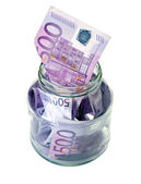 Euro money in Bootle — Stock Photo