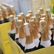 Stock Photo: Bottle of champagne wines