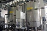 Dairy industry machinery — Stock Photo