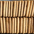 Stock Photo: Many biscuits