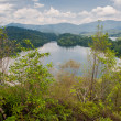 Stock Photo: Klang Gates Dam as seen from Tabur Hill in Malaysia