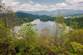 Klang Gates Dam as seen from Tabur Hill in Malaysia — Stock Photo