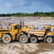 Excavation and dump vehicle — Stock Photo #10052425