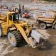 Stock Photo: Excavation and dump vehicle