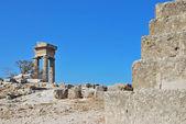 Rhodes Landmark Acropolis — Stock Photo
