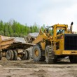 Excavation and dump vehicle — Stock Photo #9807269