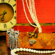 Стоковое фото: Ancient casket with ornaments