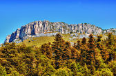 High-mountainous plateau — Stock Photo