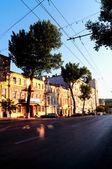 Straße der altstadt — Stockfoto
