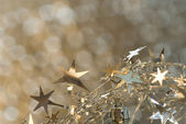 Christmas stars background — Stok fotoğraf