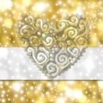 婚礼卡 — 图库照片