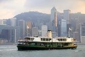 香港海港 — 图库照片