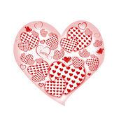 Hjärta vektor — Stockfoto