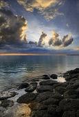 Mauricijských západ slunce — Stock fotografie