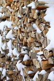 Drewno do kominka — Zdjęcie stockowe