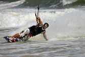 Kiteboarder — Stock Photo