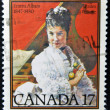 CANADA - CIRCA 1980: stamp printed in Canada shows Emma Albani, circa 1980 — Stock Photo