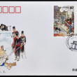 CHINA - CIRCA 2002: A stamp printed in china shows strange stories from a chinese studio, one of China´s famous classical literary works, circa 2002 — Stock Photo