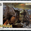 SPAIN - CIRCA 1994: A stamp printed in Spain shows The Endless Enigma by Salvador Dali, circa 1994 — Foto Stock