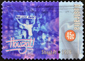 AUSTRALIA - CIRCA 1998: A stamp printed in Australia dedicated to Sherbet 1976, circa 1998 — Stock Photo