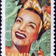 UNITED STATES OF AMERICA - CIRCA 2011: A stamp printed in USA shows Carmen Miranda, circa 2011 — Stock Photo