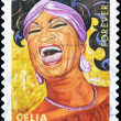 UNITED STATES OF AMERICA - CIRCA 2011: A stamp printed in USA shows Celia Cruz, circa 2011 — Stock Photo