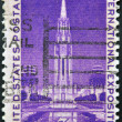 UNITED STATES - CIRCA 1939: A stamp printed in USA dedicated to Golden Gate International Exposition, circa 1939 — Stock Photo