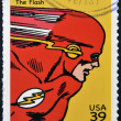 UNITED STATES OF AMERICA - CIRCA 2006: stamp printed in USA shows Flash, circa 2006 — Stock Photo