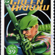 UNITED STATES OF AMERICA - CIRCA 2006: stamp printed in USA shows Green Arrow, circa 2006 — Stock Photo