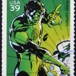 UNITED STATES OF AMERICA - CIRCA 2006: stamp printed in USA shows Green Lantern, circa 2006 — Stock Photo