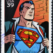 UNITED STATES OF AMERICA - CIRCA 2006: stamp printed in USA shows superman, circa 2006 — Stock Photo