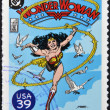 UNITED STATES OF AMERICA - CIRCA 2006: stamp printed in USA shows Wonder Woman, circa 2006 — Foto Stock