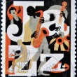 UNITED STATES OF AMERIC- CIRC2011: stamp printed in USdedicated to Jazz, circ2011 — Stock Photo #10220889