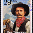 UNITED STATES OF AMERICA - CIRCA 1994 : Stamp printed in USA shows Bill Tilghman; lawman and gunslinger in the American Old West; circa 1994 — Stock Photo #10220998