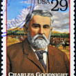 UNITED STATES OF AMERICA - CIRCA 1994 : Stamp printed in USA shows Charles Goodnight, cattle rancher in the American Old West, circa 1994 — Stock Photo