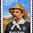 UNITED STATES OF AMERICA - CIRCA 1994 : Stamp printed in USA shows Wyatt Berry Stapp Earp, American Old West, circa 1994 - Stock Photo