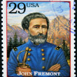 UNITED STATES OF AMERICA - CIRCA 1994 : Stamp printed in USA shows portrait of the John Fremont, circa 1994 - Stock Photo