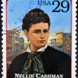 UNITED STATES OF AMERICA - CIRCA 1994 : Stamp printed in USA shows Nellie Cashman (also Ellen), circa 1994 — Stock Photo