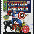 Stock Photo: UNITED STATES OF AMERICA - CIRCA 2007: stamp printed in USA shows Captain America, circa 2007