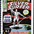 UNITED STATES OF AMERICA - CIRCA 2007: stamp printed in USA shows Silver Surfer, circa 2007 — Stock Photo #10221387