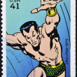UNITED STATES OF AMERICA - CIRCA 2007: stamp printed in USA shows Sub-Mariner, circa 2007 — Stock Photo