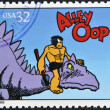 UNITED STATES OF AMERICA - CIRCA 1995: A stamp printed in USA dedicated to comic strip classics, shows Alley Oop, circa 1995 — Stock Photo