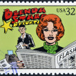 UNITED STATES OF AMERIC- CIRC1995: stamp printed in USdedicated to comic strip classics, shows BrendStarr, Reporter, circ1995 — Stock Photo #10224360