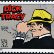 UNITED STATES OF AMERIC- CIRC1995: stamp printed in USdedicated to comic strip classics, shows Tracy, circ1995 — Stock Photo #10224373
