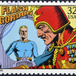 UNITED STATES OF AMERICA - CIRCA 1995: A stamp printed in USA dedicated to comic strip classics, shows Flash Gordon, circa 1995 — Stock Photo