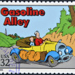UNITED STATES OF AMERIC- CIRC1995: stamp printed in USdedicated to comic strip classics, shows Gasoline Alley, circ1995 — Stock Photo #10224389